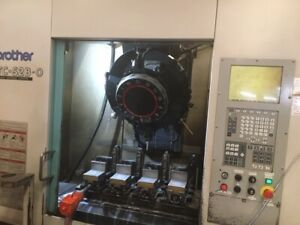 Brother Tc s2b o Cnc Drilling And Tapping Center B39108