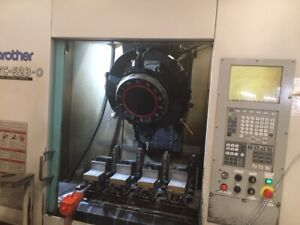 Brother Tc s2b 0 Cnc Drilling And Tapping Center B39108