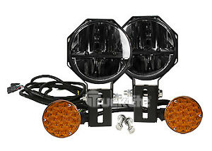 Truck lite 80880 Led 7 Round Snow Plow Lights Kit 1300 Lumens 9 33v