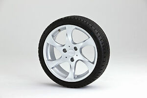 Lorinser Speedy Alloy Wheels Silver Winter Smart Fortwo Forfour 453 Adhesive