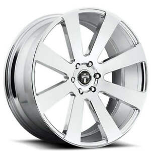 4rims 24 Dub Wheels 8 Ball S131 Chrome Rims Fs
