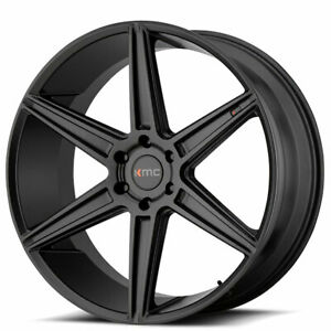 20 Kmc Km712 Prism Black Wheels And Tires