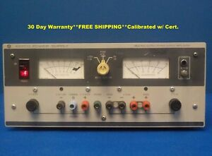 Kepco Mps 620m Variable Linear Power Supply 3 Output 0 6v 0 20v Mps620m