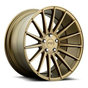 19 Staggered Niche M158 Form Bronze Wheels And Tires