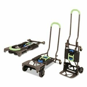 300 Lb Capacity Heavy Duty Folding Hand Truck And Dolly Cart Luggage Moving Mult