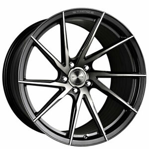 4 Set 20 Stance Wheels Sf01 Gloss Black Tinted Face Rims Fs