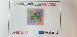 Genuine Roland Soljet Pro Iii Xj 640 Printer Ext Junction Board W700311450
