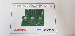 Genuine Roland Soljet Pro Iii Xj 640 Printer Print Carriage Board W700731310