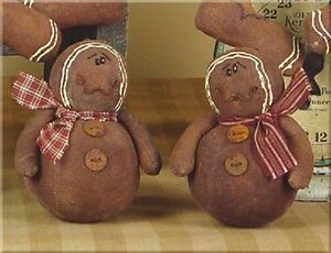 Honey Me Set Of 2 Gingerbread Ornaments Matches Tree Topper Listed Ap