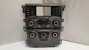 2013 Ford Edge Factory Oem Used Radio Face And Climate Control 1214