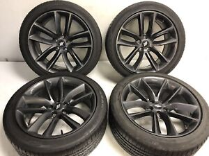 20 Dodge Charger Challenger Oem Wheels Rims Tires 2526 2015 2019 Used