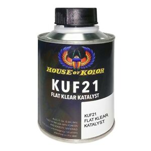 House Of Kolor Kuf21 Catalyst For Fc21 Flat Clear 1 2 Pint