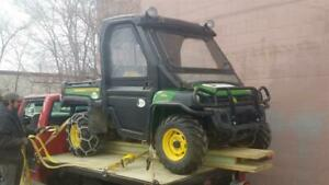 2011 John Deere 4x4 Gator Xuv 855d With Plow 796 Hours