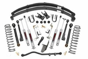 Rough Country 6 5 Lift Kit Fits 1984 2001 Jeep Cherokee Xj 4wd X Series