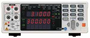 Hioki Bt3562 6v 60v Battery Impedance Tester