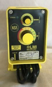 New Milton Roy Electromagnetic Dosing Pump A151 85hv New Never Used Lmi