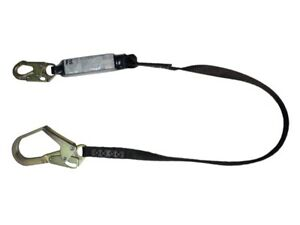Safewaze Fs88665 hw 6 Energy Absorbing Lanyard With Rebar Hook 400 Lb