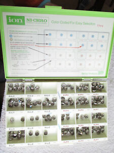 3m Ion Ni chro Permanent Molar Crowns Set In Case W Extra Pieces 142 Count