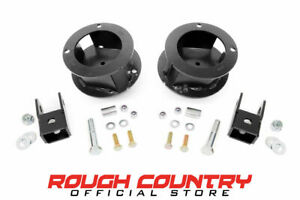 Rough Country 2 5 Leveling Kit For Ram 2013 2018 3500 4wd
