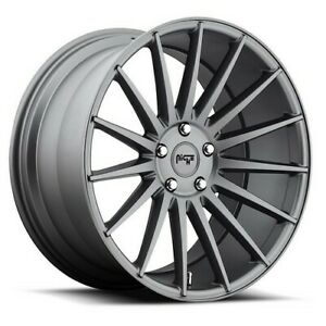 4rims 19 Staggered Niche M157 Form Charcoal Wheels And Tires
