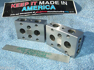 Blocks 1 2 3 Parallels 1 4x20 Toolmaker Machinist Inspection Grinder Mill
