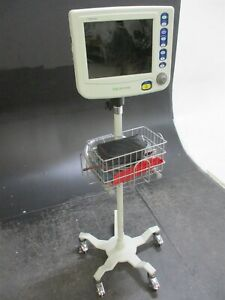 Csi Ngenuity Medical Patient Monitor W Stand For Vital Signs Monitoring