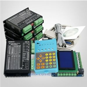 Cnc Kit 4 Axis Professional Ema2 050d42 Stepper Drivers Nema 17 Nema 23