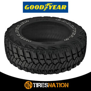 1 Goodyear Wrangler Mt R W Kevlar 35x12 50r17lt 111q All Terrain Off Road Tires