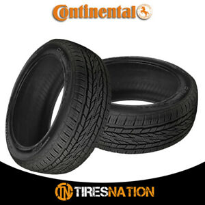 2 New Continental Crosscontact Lx20 275 60r18 113h Tires