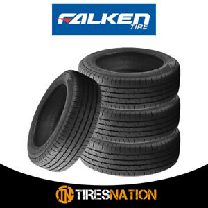 4 New Falken Sincera Sn250 A s 205 55r16 91t Sl Blk Tires