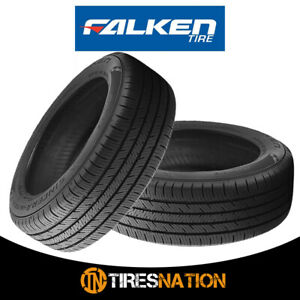 2 New Falken Sincera Sn250 A s 205 55r16 91h Sl Blk Tires