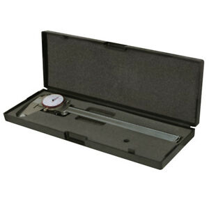 8 200mm Dual Reading Dial Caliper Shockproof Scale Metric Sae Standard Inch