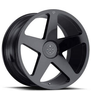 20 Staggered Wheels And Tires Blaque Diamond Bd 15 Gloss Black