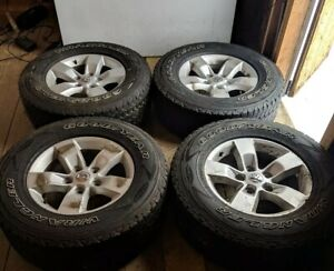 265 70 17 Tires Set Of 4 Along With 17 Inch Wheels