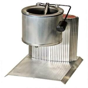 Electric Lead Melting Pot Molds Metal Melter Casting Furnace Spout w Thermostat