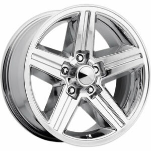 Oe Performance 148 Iroc 20x8 5x127 5x5 0mm Chrome Wheels Rims 148c 28730