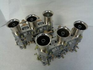 Porsche Weber 46 Ida Carburetors 2 Porsche 911 906 914 6 Genuine Weber New