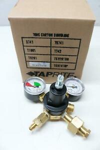 Taprite Fassco Series 3740 Compressed Gas Beer Soda Tank Regulator Co2 Gauge