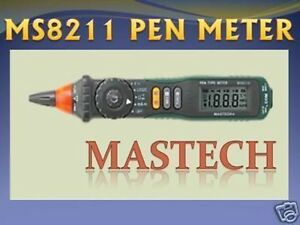 Mastec Ms8211d Pen Type Multimeter Meter Dmm Volt Amp