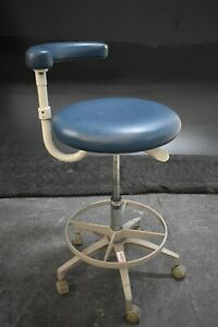 Used Adec Dental Furniture Stool For Dentistry Operatory Seating 70589