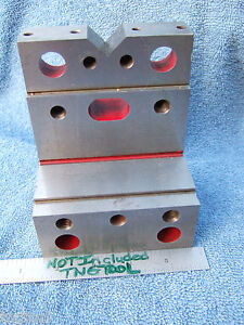 Angle Plate Stepped W vee Hard Usa Tooolmaker Inspection Grinding Mill Precise