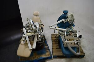 Healthco Operatory Package 2 Dental Patient Exam Chairs W Deliveries