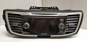 2013 2014 2015 Honda Accord Oem Used Radio Am Fm Cd Receiver Display Screen 1249
