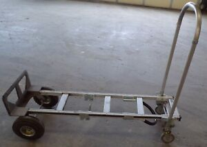 Uline Convertible Hand Truck H 1364 Capacity 500 800lbs