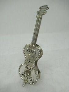 Sterling Silver 925 Guitar Besamim Spice Holder Brand New 90 Grams