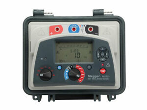 Megger Mit525 kit Mit525 With A Vf2 Voltage Detector Extra Long 16 5 Ft Leadset