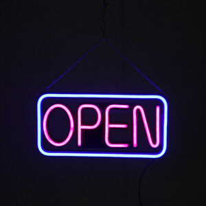 Us Open Sign Ultra Bright Led Neon Look 3 Colors Business Store Window Sign 20