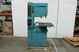 Rockwell 28 3x5 2 Speed 12 Vertical Band Saw 20 Throat 2hp 208 230 460v 3ph
