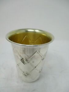 Sterling Silver 925 Kiddish Cup Goblet Becher Used 36 Grams