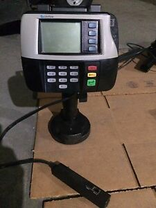 Verifone Mx830 M090 307 05 rb Card Reader Terminal With Stand And Cable